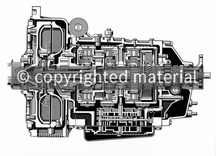 Automatic transmission for 220 SE and 220 SE Coupé - Media
