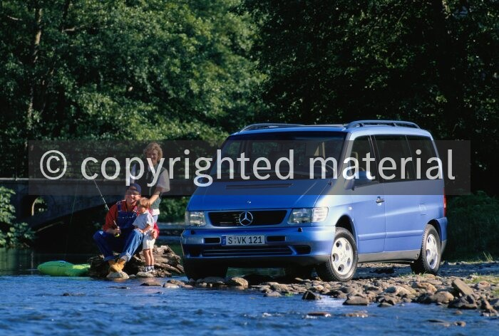 Mercedes Benz Vito v-Classe w638 Télescope Manual