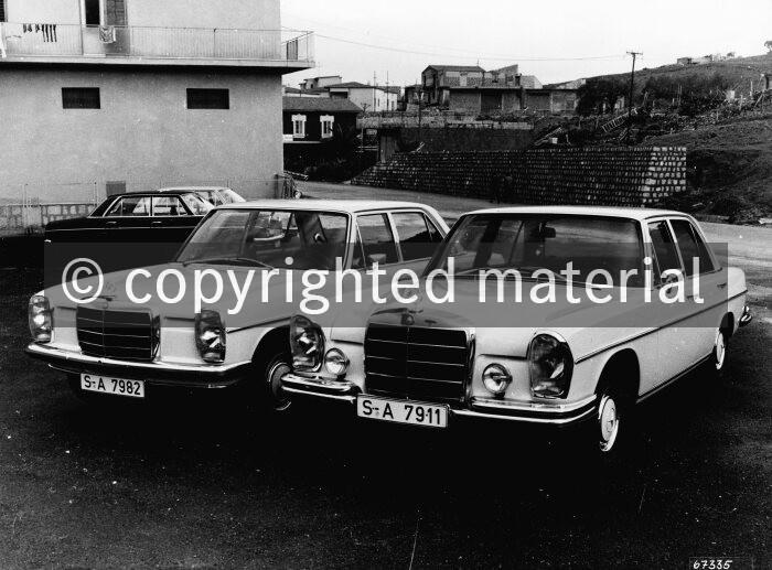 Mercedes-Benz W 115, W 108 - Media Database