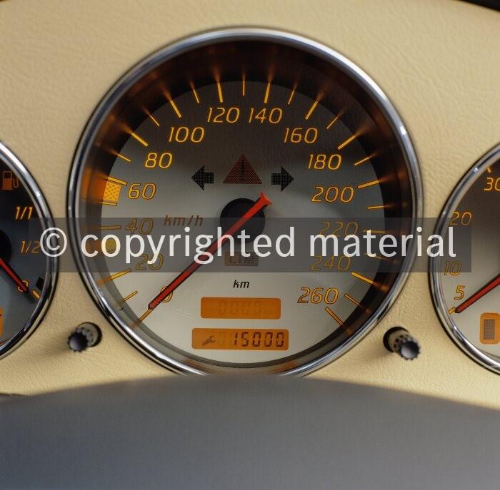 Fahrwerk Feder 2 vorne Mercedes SLK 320 32-AMG-Kompressor Typ R170
