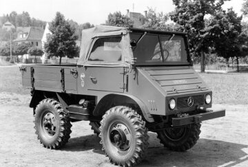 Mercedes-Benz Unimog U 30, model series 411, 1956 - 1961