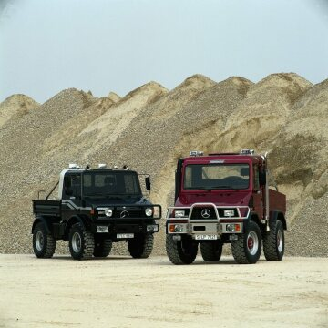 "The ""Funmog"" U 90, concept car for an off-road-capable leisure vehicle based on the Unimog, 1994."