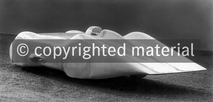Mercedes-Benz W 154 fully streamlined record car, 1939