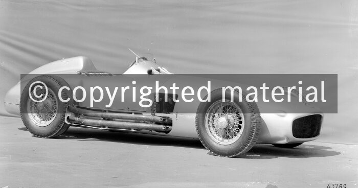 Mercedes-Benz W 196 R racing car, 1954