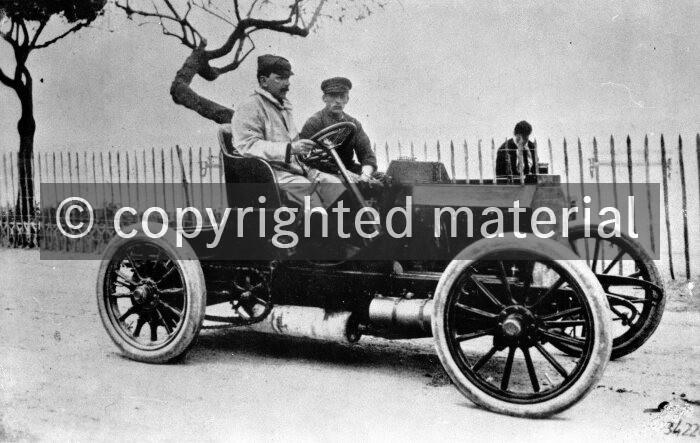 Mercedes-Simplex 40 hp racing car, 1902 - Media Database