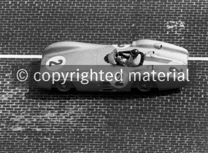 Mercedes-Benz W 196 R streamlined racing car, 1954