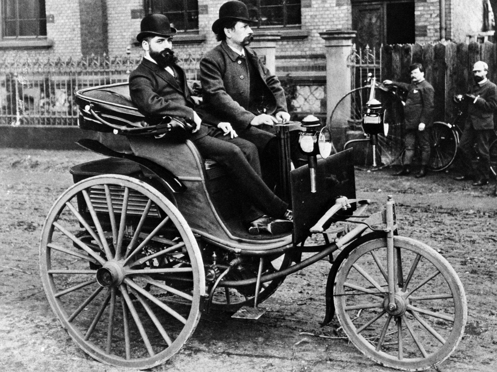 Benz Patent Motor Car, 1886 - 1894 - Media Database