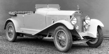 Mercedes-Benz 630, K model, 24/110/160 hp, touring car, built from 1926 to 1930.