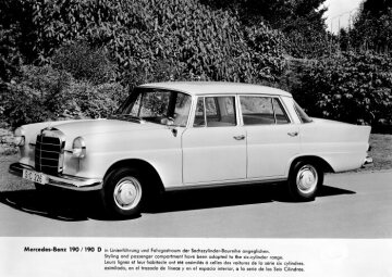 Mercedes-Benz 190 c / 190 Dc sedan from the W 110 series, from 1961 - 1965