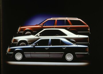 Mercedes-Benz six-door long wheelbase 250 D and 260 E.