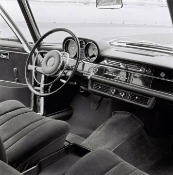 Mercedes-Benz 300 SEL W 109 control elements 1965