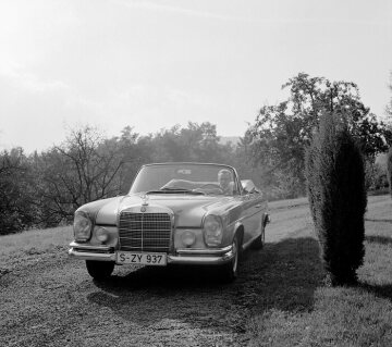 Mercedes-Benz 280 SE Convertible from 1968