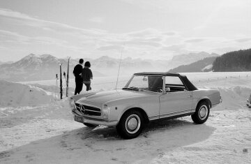 Mercedes-Benz Type 250 SL (W 113), from 1965.