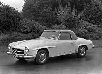 Mercedes-Benz 190 SL Roadster with coupé roof from 1955