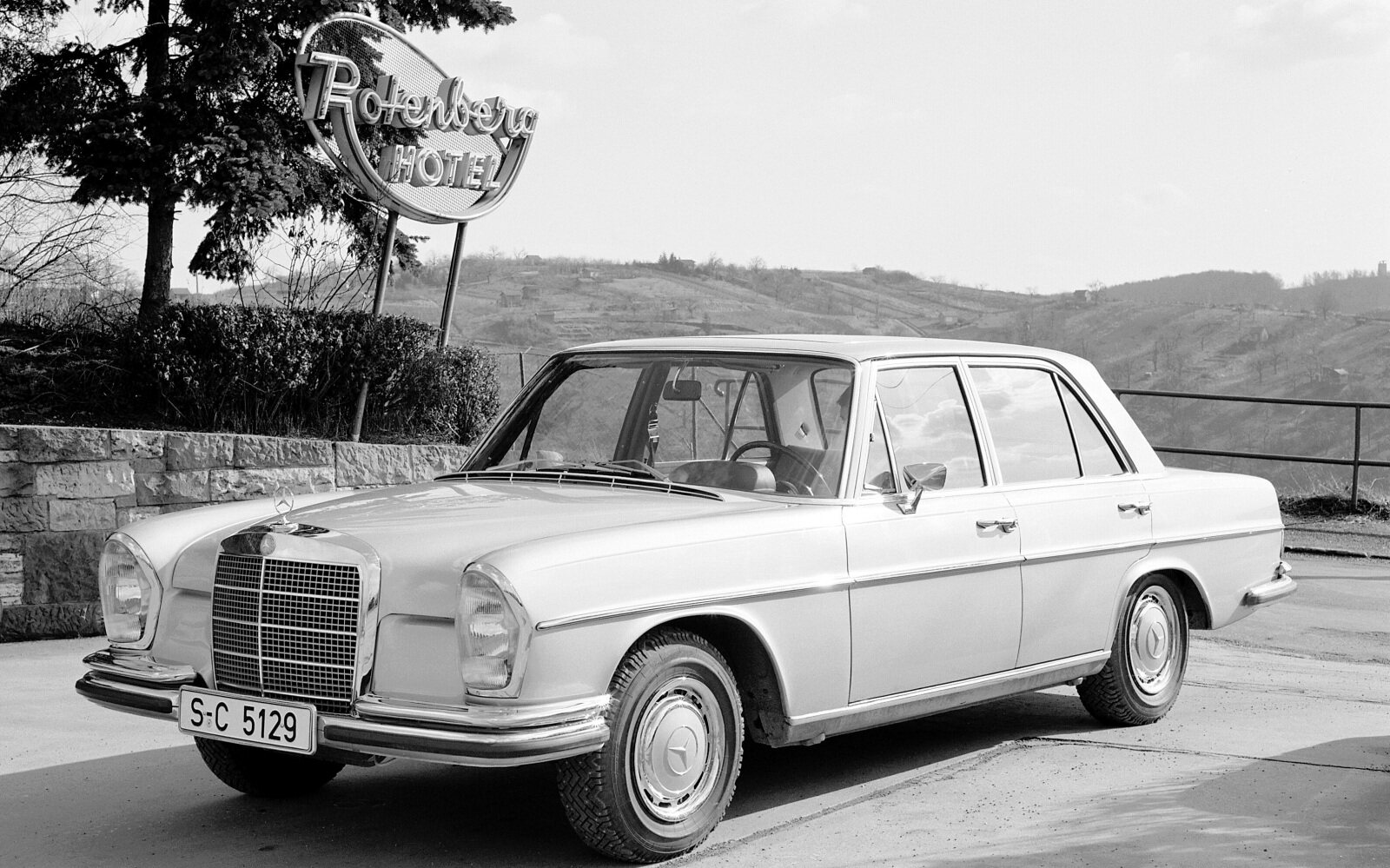 PKW4161 Types 250 S - 300 SEL 6.3 (108, 109 series), 1965 - 1972