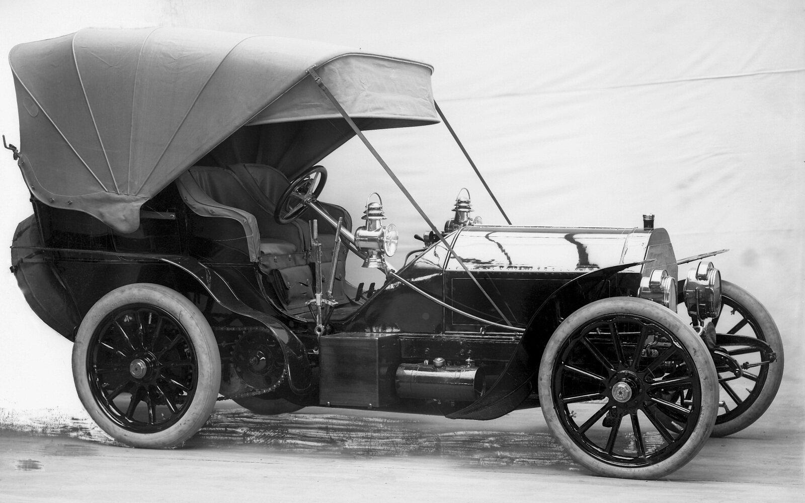 Mercedes-Simplex models, 1903 - Media Database