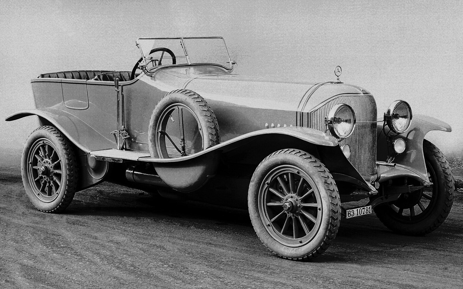 PKW2161 Mercedes experimental cars and single-unit production, 1913 - 1920
