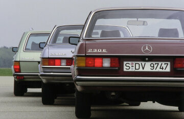 Mercedes-Benz Coupé, Sedan and Station Wagon, 123 series